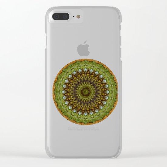 Kaleidoscope No. 6 - Green Clear iPhone Case