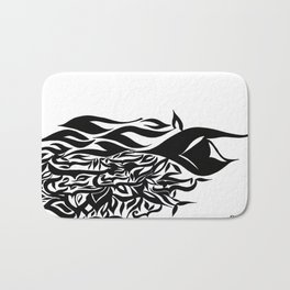 wave design 1.0 Bath Mat