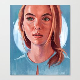 Jodie Comer Canvas Print