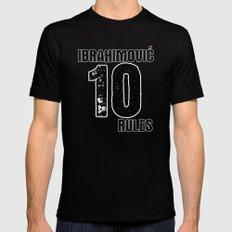 Ibrahimovic 10 Rules Black MEDIUM Mens Fitted Tee