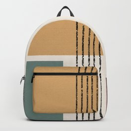 Modern Geo Design  Backpack