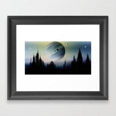 Ferner Himmel. Framed Art Print