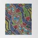 Aboriginal Art Authentic - Walking the Land by hogartharts