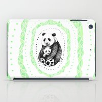 pandas iPad Cases featuring PANDAS! by Sagara Hirsch