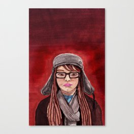 Mon Amie Canvas Print