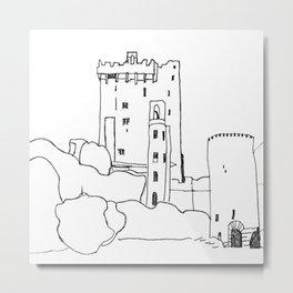 Irish Castle Metal Print