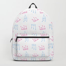 melody 4-music,melody, mark, music notation,fun, solfeggio, pleasure, rythm, dance, art Backpack