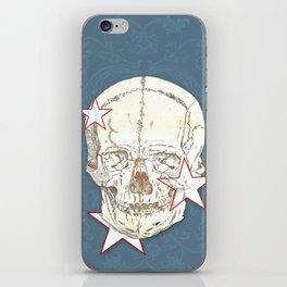 Skull with Stars iPhone Skin