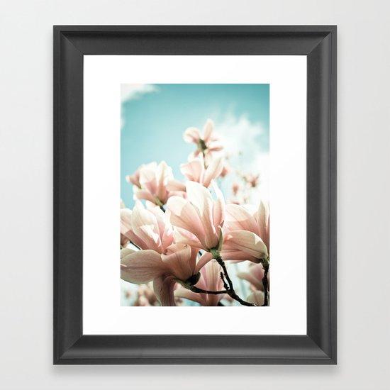 Spring Fling Framed Art Print