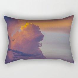 Glowing Escape Rectangular Pillow