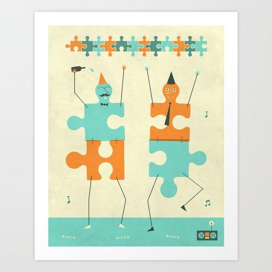 MIS-FITS Art Print