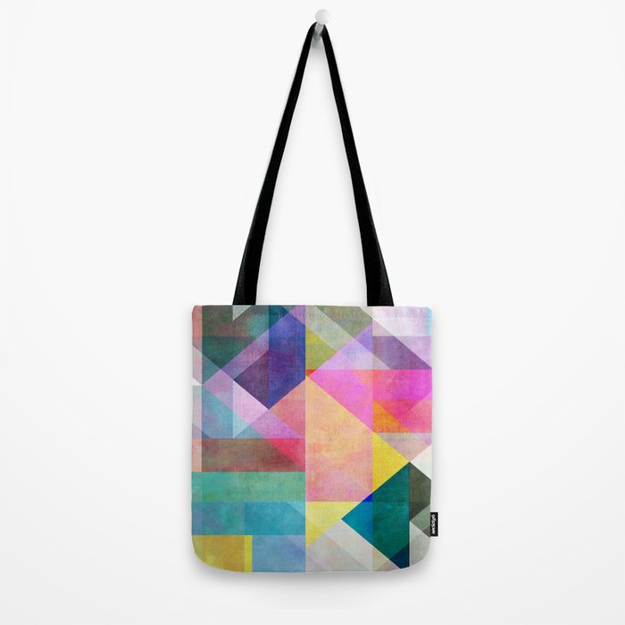 Color Blocking 2 Tote Bag