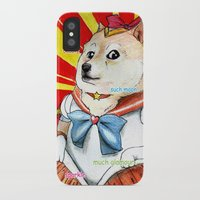 doge iPhone & iPod Cases featuring Sailor Doge by Michael Thomas Grant