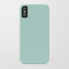 Chevron Mint iPhone Case