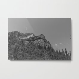 Lake Louise Saddleback 3 Metal Print