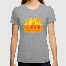 Summer Make Me Happy yo T-shirt