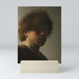 Self-portrait Mini Art Print