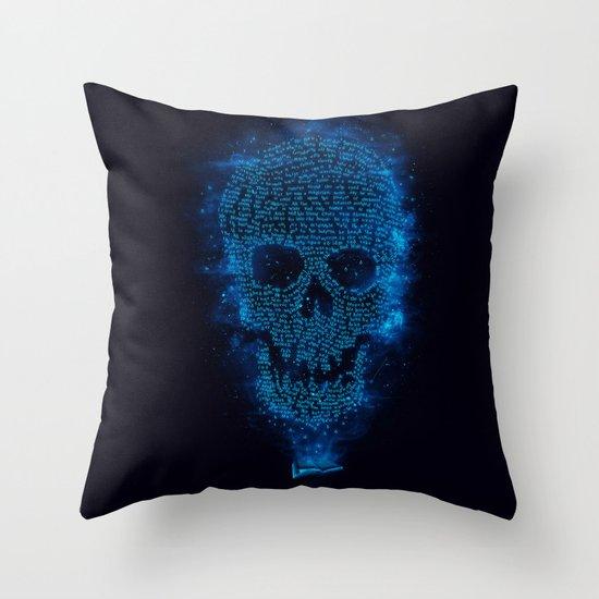 Deadtime Stories Throw Pillow