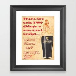Guinness - Vintage Beer Framed Art Print