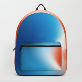 Blue and Red - Abstract Design Backpack