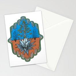 Century Plant Stationery Cards