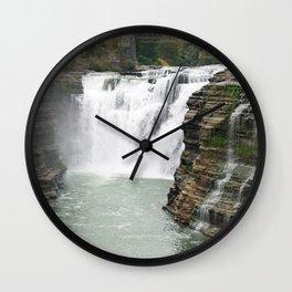 Letchworth Upper Falls Wall Clock