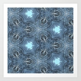 fracta tree grow1 Art Print