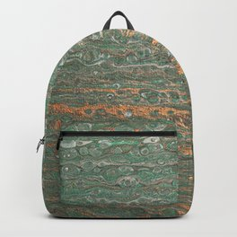 fluid coppered teal Backpack
