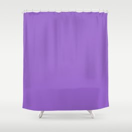 AMETHYST pastel solid color Shower Curtain
