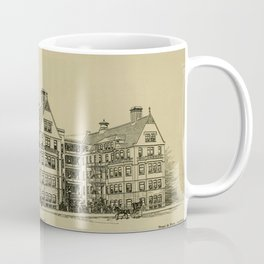 Wesley Hospital 1888 Coffee Mug