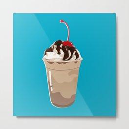 THE FOOD - Frappé/Coffee Metal Print
