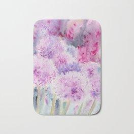 Alliums and Foxgloves Bath Mat