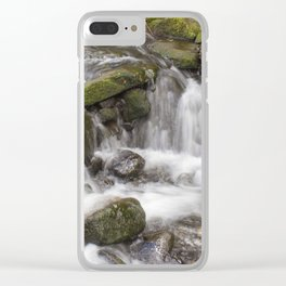 Lumsdale Falls Clear iPhone Case