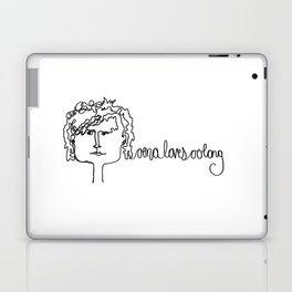 oona loves oolong Laptop & iPad Skin