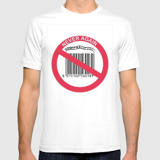 Olocausto Never Again T-shirt
