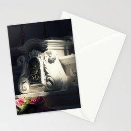 Church altar light ray mojo Stationery Cards