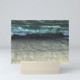 Sea Wave Ocean Beach Sand Mini Art Print