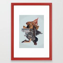Living Stains Framed Art Print