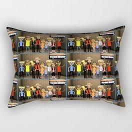 Bwilly Bwightt's Toon Show Crew Rectangular Pillow