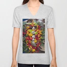 Chilli Bouquets  Unisex V-Neck