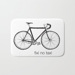 fixi no taxi Bath Mat