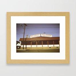 Reo Diner Framed Art Print