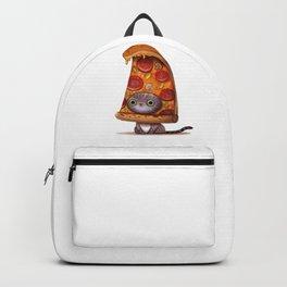 Kitten Pizza Backpack