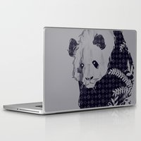 brand new Laptop & iPad Skins featuring New Brand Panda by Tobe Fonseca