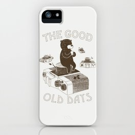 The Good Old Days iPhone Case