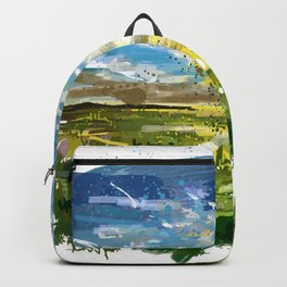 Sunset abstract Backpack