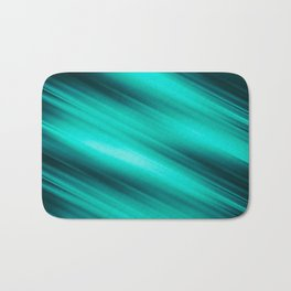 Abstract background blur motion green style Bath Mat