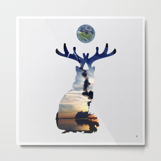 FabCreature · CaDee 2 Metal Print