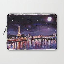 Paris at Night Laptop Sleeve