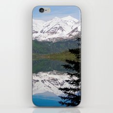 Mountain Reflection with Lone Pine iPhone & iPod Skin